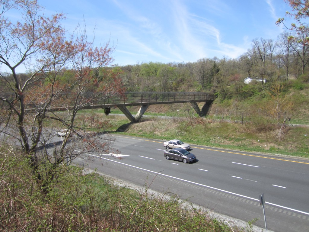 Bridge across Maryland Interstate 70
