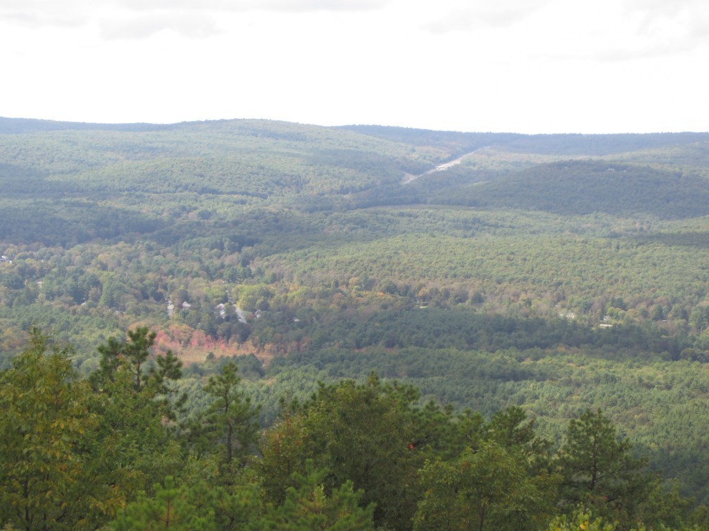 View toward Wurtsboro, NY