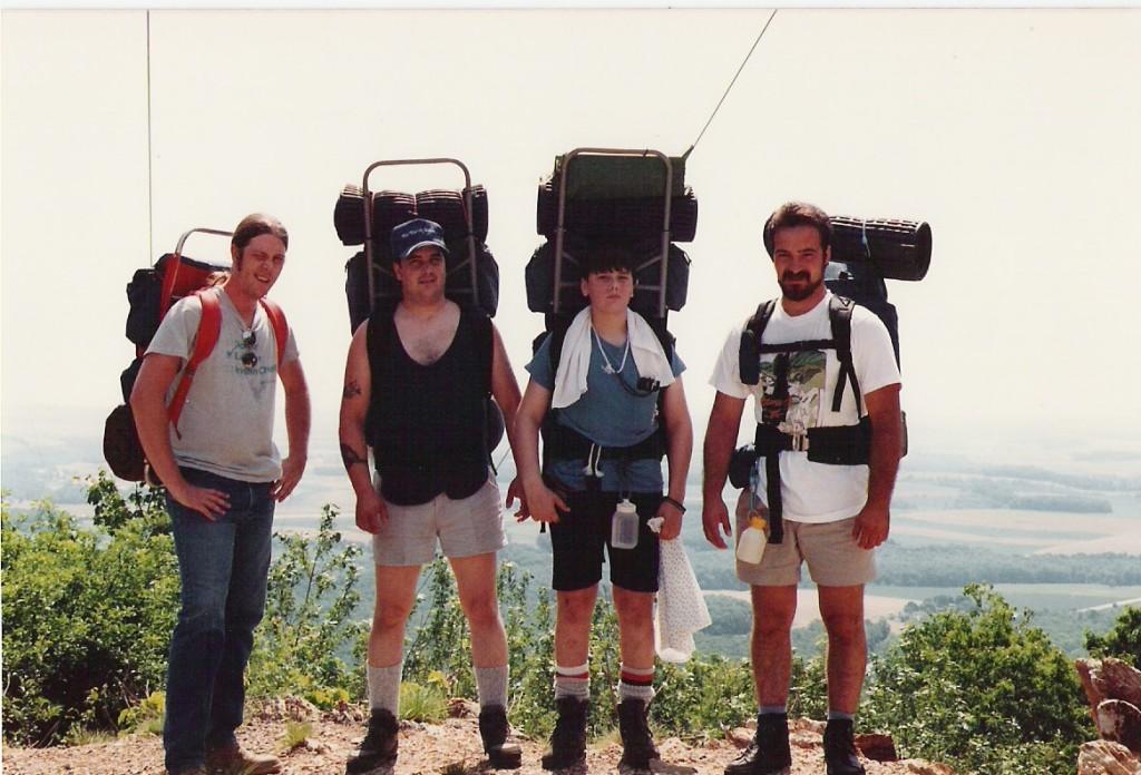 Old friends circa June 1989