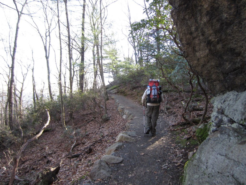 Appalachian Trail on Bear Mountain