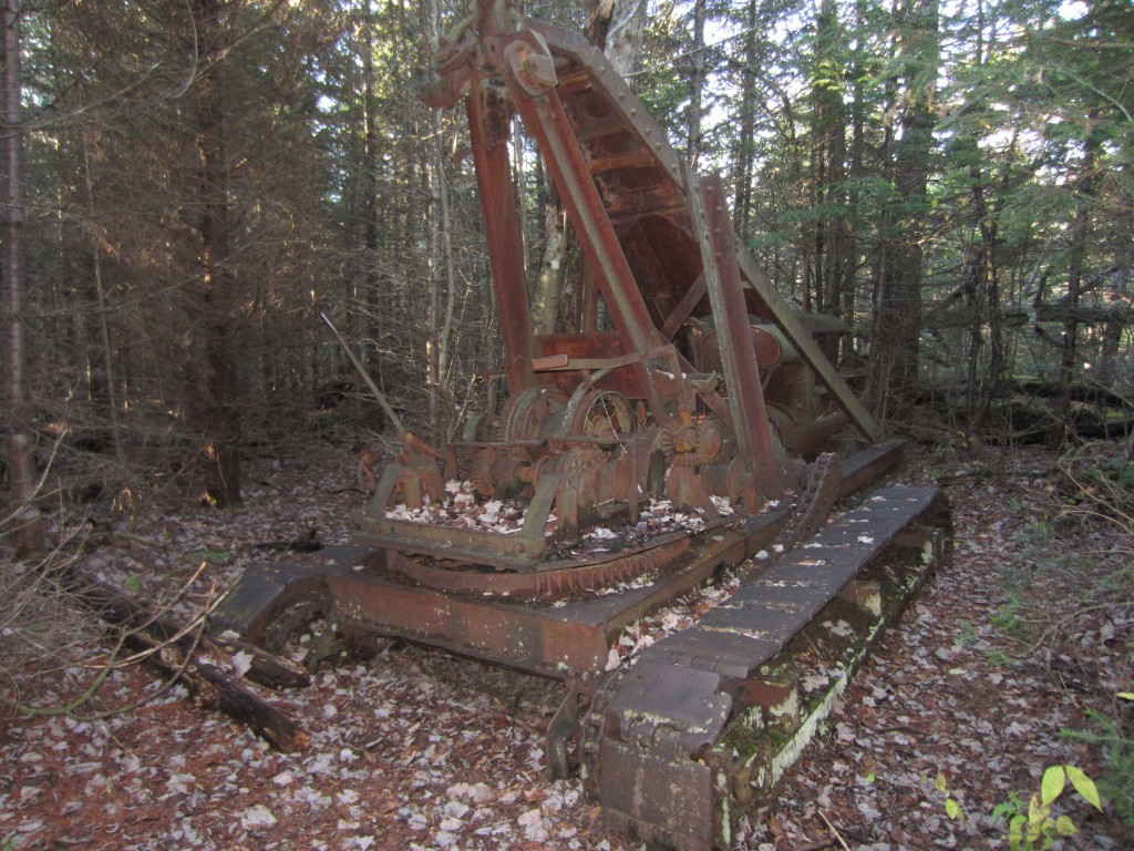 Abandoned equipment