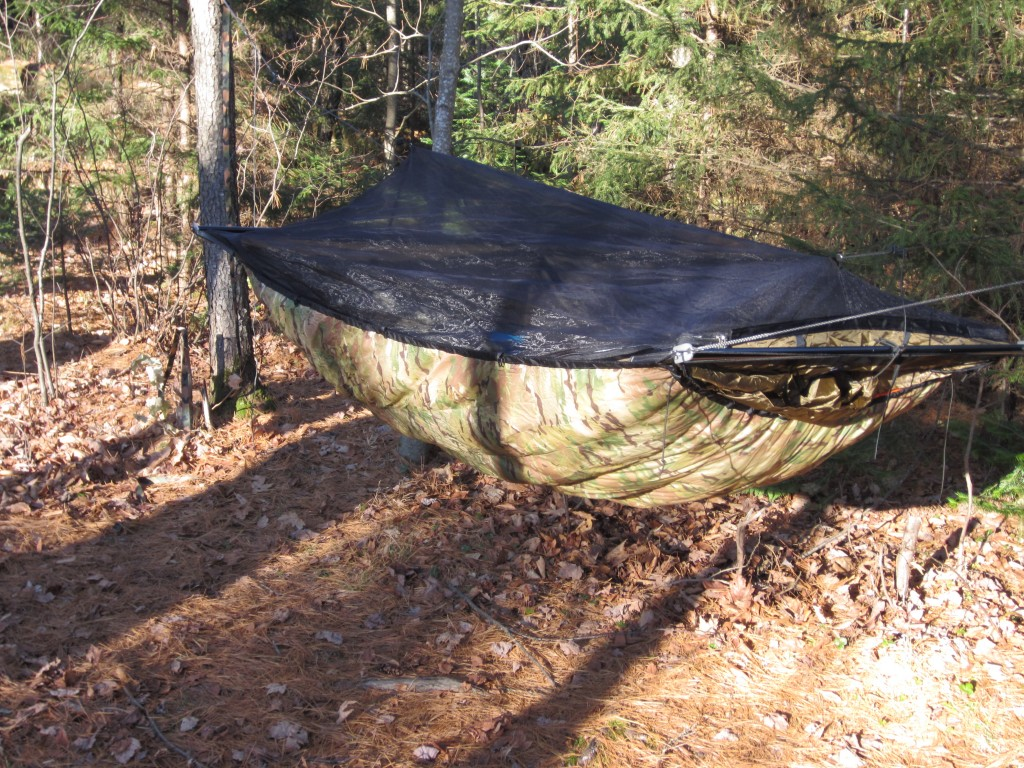 WBRR hammock with LLG LongHot underquilt